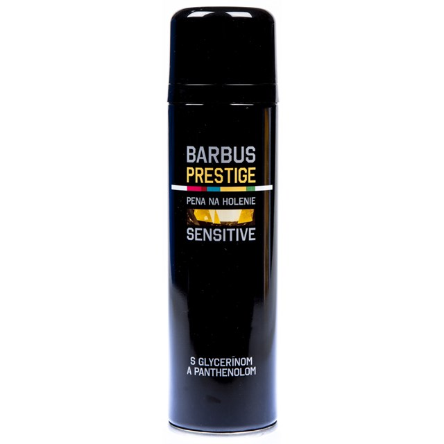Barbus Prestige pena na holenie Sensitive 200ml